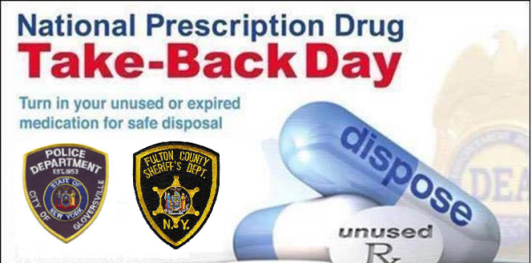 Local Law Enforcement Participate in National Prescription Drug Take Back Day